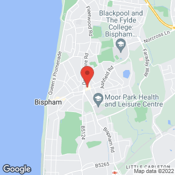Map of Bargain Booze Select Convenience Red Bank Road at 339-341 Red Bank Road, Blackpool, Lancashire FY2 0HJ