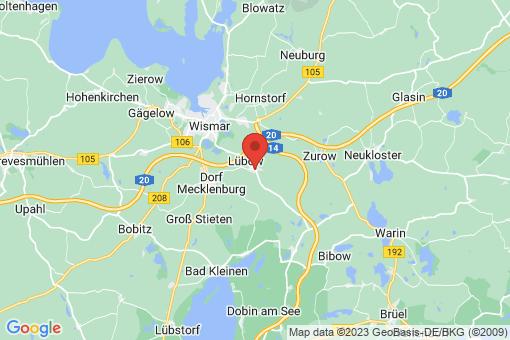 Karte Lübow