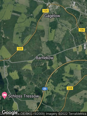 Google Map of Barnekow