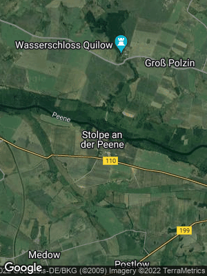 Google Map of Stolpe bei Anklam
