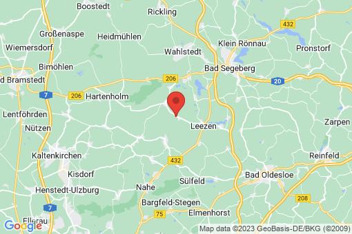 Karte Fredesdorf