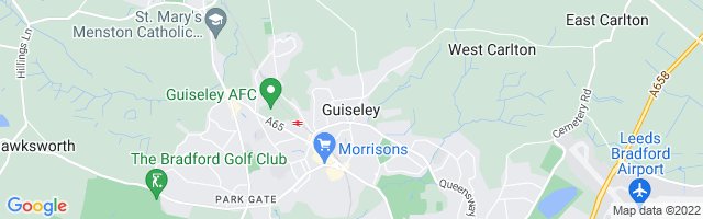 Map Of Guiseley