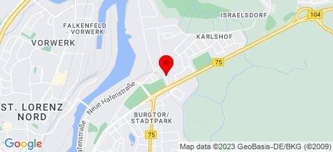 Google Map für Haus Tusculum
