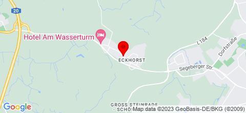 Google Map für Haus Jacqueline bei Lübeck