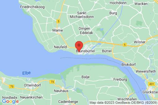 Karte Brunsbüttel