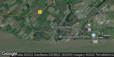 Google Map of Brunsbüttel