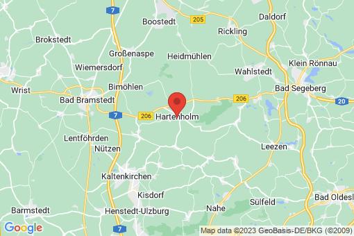 Karte Hartenholm