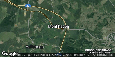 Google Map of Mönkhagen