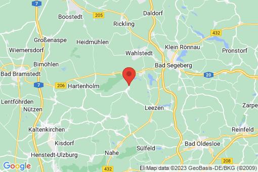 Karte Todesfelde
