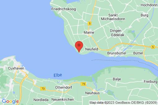 Karte Neufelderkoog