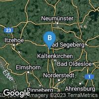 Lagekarte von Bad Bramstedt