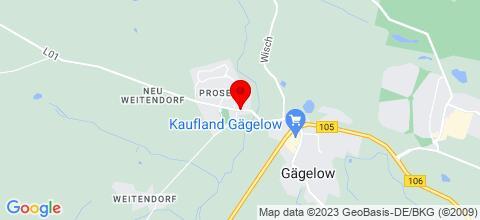 Google Map für Ferienhaus Monteurzimmer
