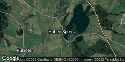 Google Map of Hohen Sprenz