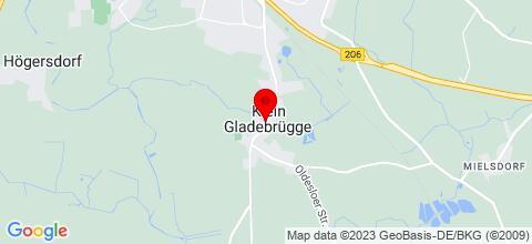 Google Map für Ferienhaus Schulz