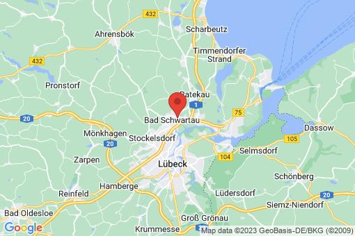 Karte Bad Schwartau