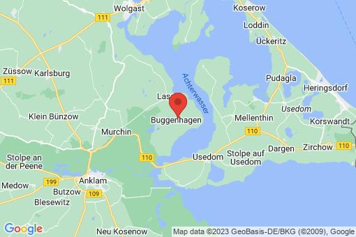 Karte Buggenhagen