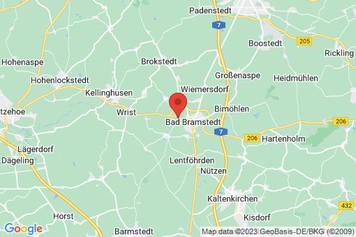 Karte Hitzhusen