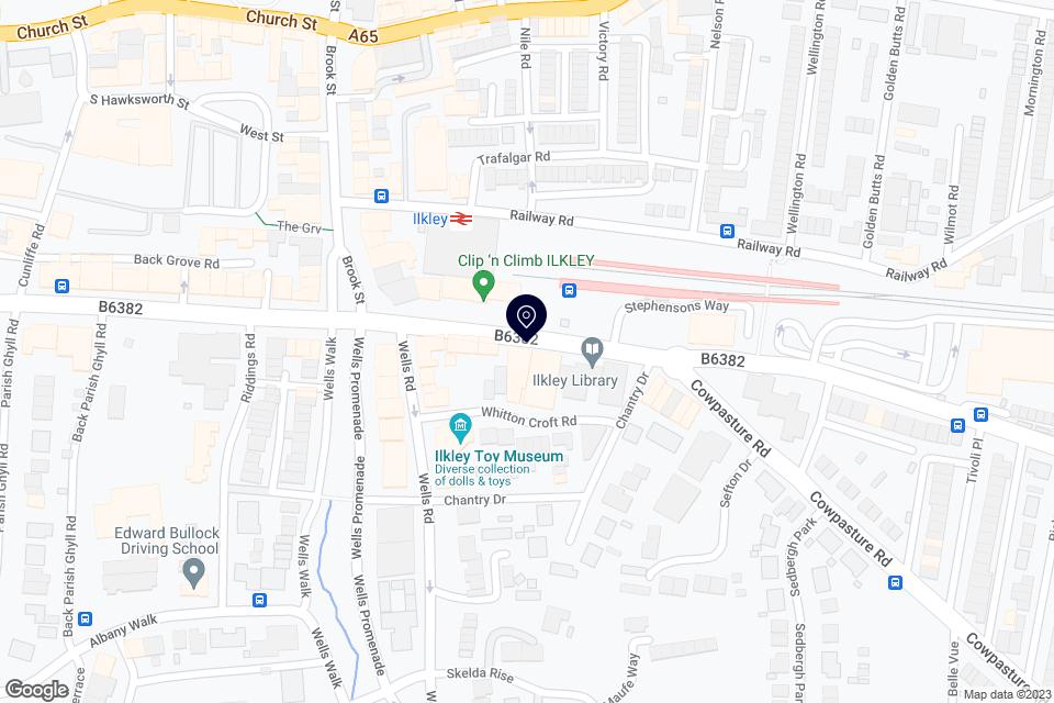Station Rd, Ilkley LS29 8HB, Ilkley, LS29 8HB map