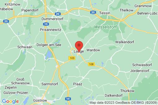 Karte Laage