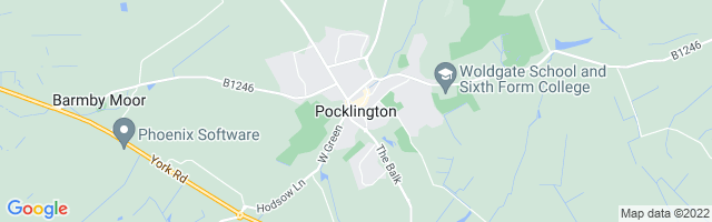 Map Of Pocklington