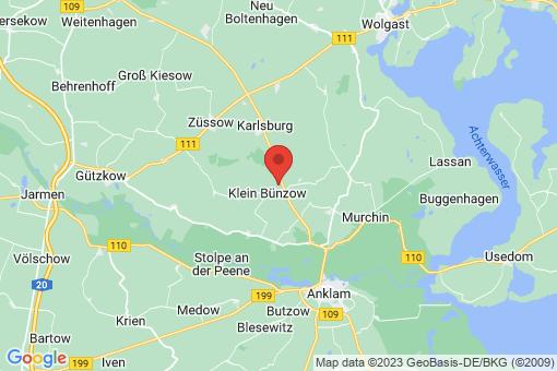 Karte Klein Bünzow