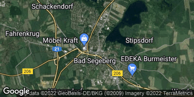 Google Map of Bad Segeberg