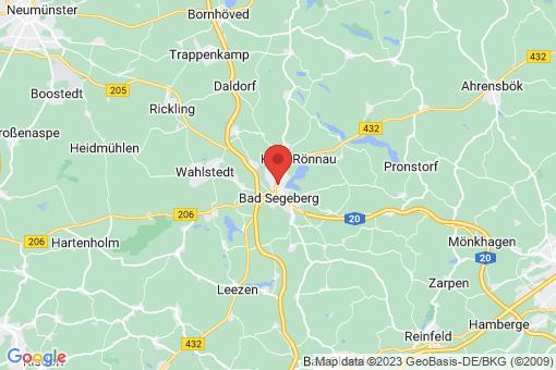Karte Bad Segeberg
