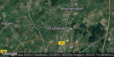 Google Map of Fuhlendorf