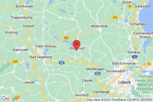 Karte Pronstorf