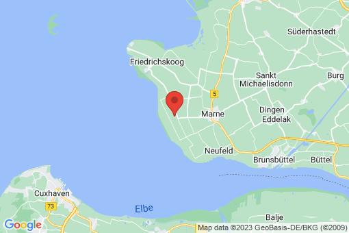 Karte Kaiser-Wilhelm-Koog