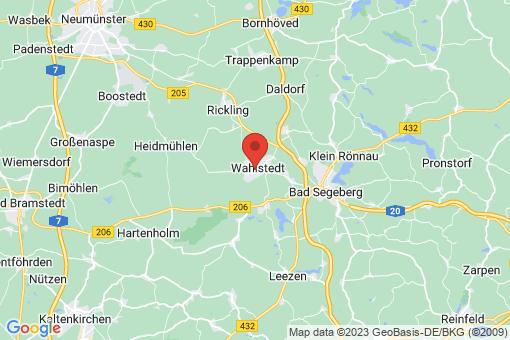Karte Wahlstedt