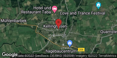Google Map of Kellinghusen