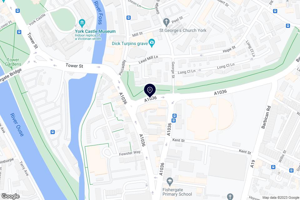 Paragon St, York, YO10 4AH map