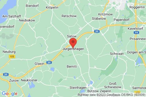 Karte Jürgenshagen