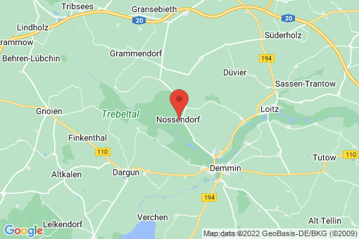 Karte Nossendorf