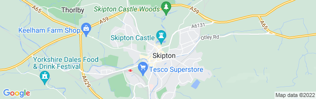 Map Of Skipton