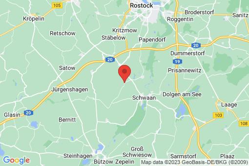 Karte Bröbberow