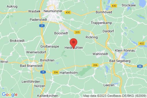 Karte Heidmühlen
