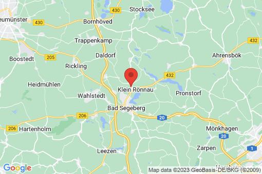 Karte Groß Rönnau