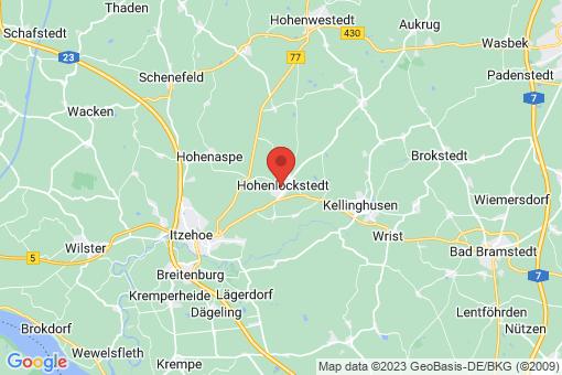 Karte Hohenlockstedt