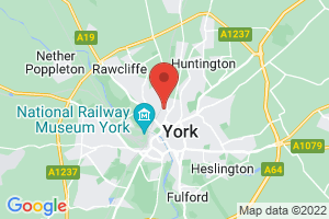 York Teaching Hospital Library Service on the map