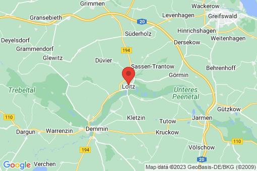 Karte Loitz