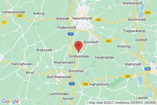 Karte Großenaspe