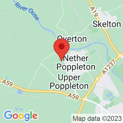 Map showing Poppleton Social