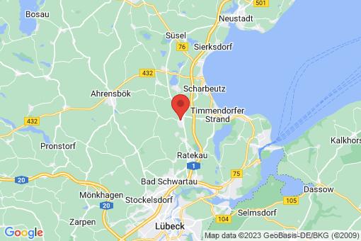 Karte Pansdorf, Holstein