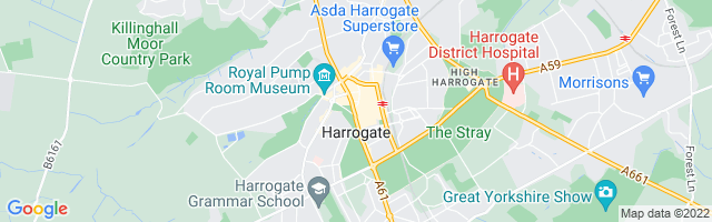 Map Of Harrogate