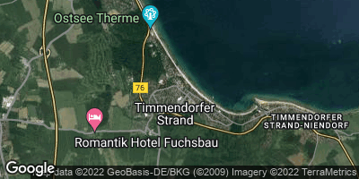 Google Map of Timmendorfer Strand