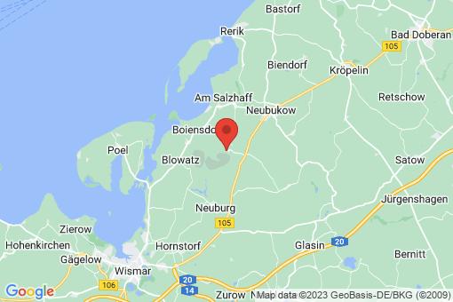 Karte Alt Bukow