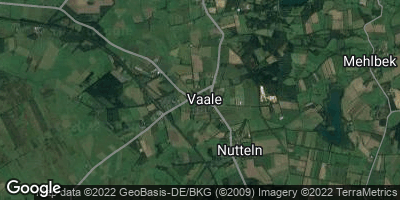 Google Map of Vaale