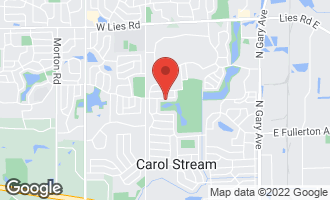 Map of 530 Mohican Road CAROL STREAM, IL 60188
